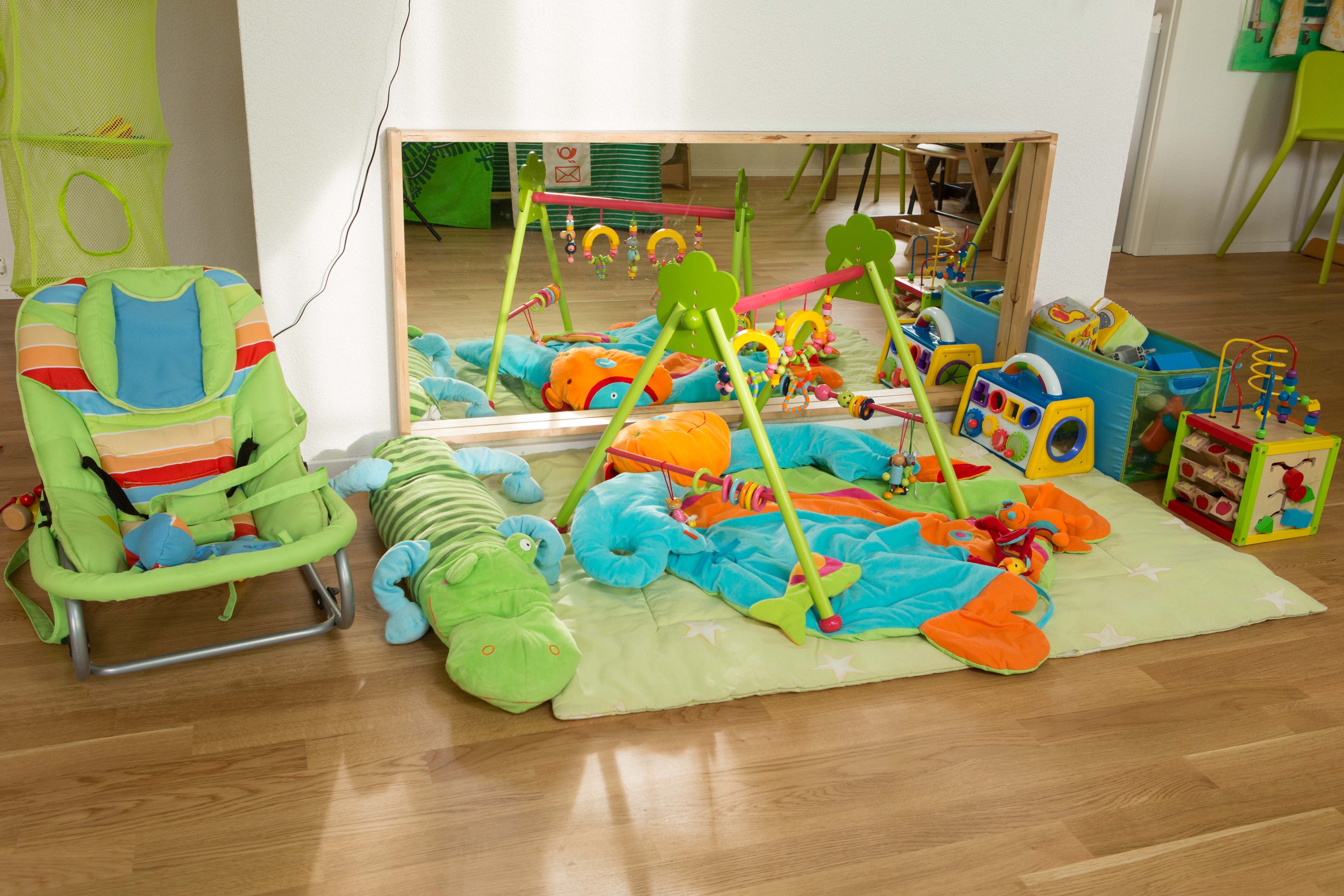 schlafen in der kita kindergarten heute
